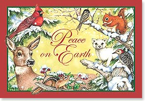 Christmas Card - Hope and peace, joy and love  | Tracy Flickinger | 73651 | Leanin' Tree
