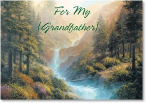 Father's Day Card - Grandfather; 1 Corinthians 13:13 | Charles H. Pabst | 7_2002678-P | Leanin' Tree