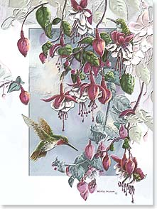 Birthday Card - Deluxe Embossed | Sweet Birthday Wish | Wanda Mumm | 80627 | Leanin' Tree
