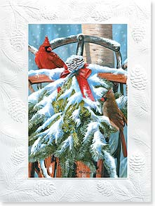 Christmas Card - The Simple Blessings of the Season | Victoria Wilson-Schultz, Inc. | 80851 | Leanin' Tree