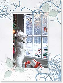 Christmas Card - Hope everything warms your heart! | Richard Macneil | 80859 | Leanin' Tree