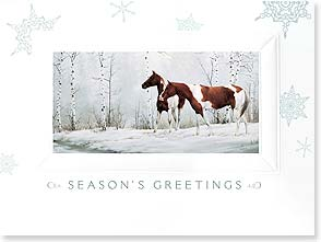 Holiday Card - Beauty in Each Holiday Moment | Sally Camerlo Murray | 80874 | Leanin' Tree