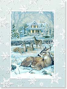 Holiday Card - The quiet and simple joys of this special time of year. | Greg Giordano | 80919 | Leanin' Tree