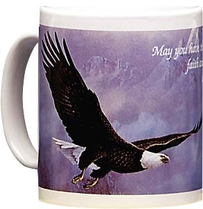 Ceramic Mug - The Strength Of Eagles Wings  | Ted Blaylock | 87 | Leanin' Tree