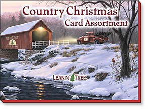 Boxed Christmas Assortment - Christmas Greeting Card Assortment | Country Christmas - 90206 | Leanin' Tree