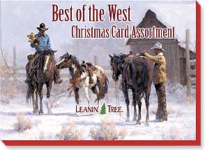 Boxed Christmas Assortment -  Best Of The West - 90208 | Leanin' Tree