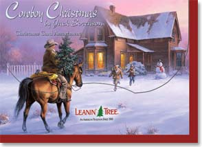 Cowboy Christmas - Christmas Greeting Card Assortment | Cowboy Christmas - 90218 | Leanin' Tree