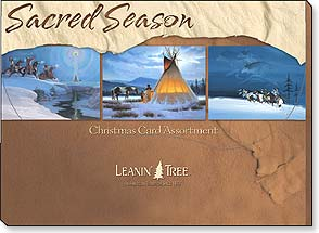 Boxed Christmas Assortment<BR/>2 ea. of 10 designs - Christmas Card Assortment | Sacred Season - 90250 | Leanin' Tree