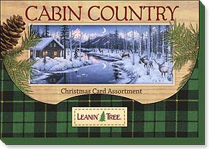 Boxed Christmas Assortment - Christmas Card Assortment | Cabin Country - 90252 | Leanin' Tree
