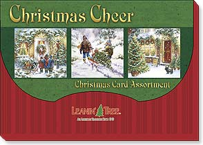 Boxed Christmas Assortment - Christmas Card Assortment | Christmas Cheer - 90253 | Leanin' Tree