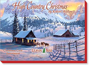 Boxed Christmas Assortment<BR/>2 ea. of 10 designs - High Country Christmas by Robert Walton - 90262 | Leanin' Tree