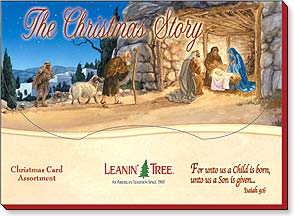 Boxed Christmas Assortment<BR/>2 ea. of 10 designs - The Christmas Story - 90263 | Leanin' Tree