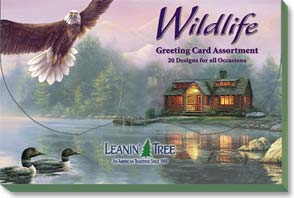 Boxed Greeting Cards - Sale - Greeted Assortment | Wildlife Gallery - 90600 | Leanin' Tree