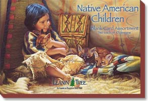 Boxed Greeting Cards - Native American Children - 90631 | Leanin' Tree