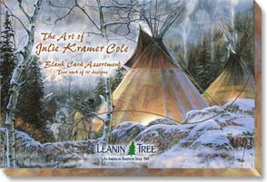 Boxed Blank Cards<BR/>2 each of 10 designs - Boxed Blank Cards | The Art Of Julie Kramer Cole - 90632 | Leanin' Tree