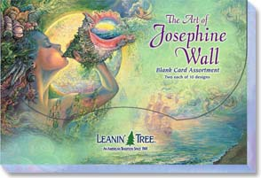 Boxed Blank Cards<BR/>2 each of 10 designs - Blank Card Assortment | Art Of Josephine Wall - 90636 | Leanin' Tree