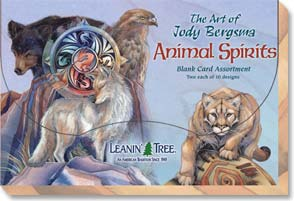 Boxed Blank Cards - Animal Spirits Blank Card Assortment - 90637 | Leanin' Tree