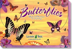Boxed Blank Cards<BR/>2 each of 10 designs - Blank Card Assortment| Butterflies - 90644 | Leanin' Tree