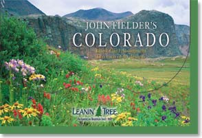 Boxed Blank Cards<BR/>2 each of 10 designs - John Fielder's Colorado - 90655 | Leanin' Tree