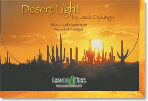 Boxed Blank Cards<BR/>2 each of 10 designs - Blank Card Assortment| Desert Light - 90657 | Leanin' Tree