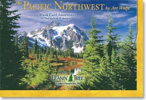 Boxed Blank Cards<BR/>2 each of 10 designs - The Pacific Northwest - 90658 | Leanin' Tree