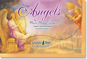 Boxed Blank Cards<BR/>1 each of 20 designs - Angels by Marius Michael-George - 90659 | Leanin' Tree