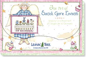Boxed Greeted Cards<BR/>1 each of 20 designs - The Art of Sandi Gore Evans - 90687 | Leanin' Tree