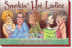 Boxed Greeted Cards<BR/>1 each of 20 designs - Greeted Card Assortments | Smokin' Hot Ladies - 90700 | Leanin' Tree