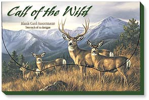 Boxed Blank Cards - Blank Card Assortment | Call of the Wild | Rosemary Millette | 90707 | Leanin' Tree
