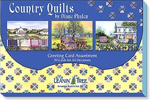 Boxed Greeting Cards - Greeted Card Assortments | Country Quilts - 90715 | Leanin' Tree
