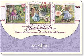 Boxed Greeted Cards<BR/>1 each of 20 designs - Greeted Assortment | Art Of Susan Wheeler - 90727 | Leanin' Tree