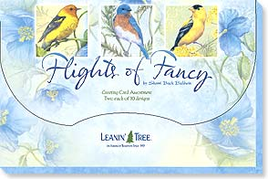Boxed Greeting Cards - Greeted Card Assortment: Flights of Fancy - 90729 | Leanin' Tree
