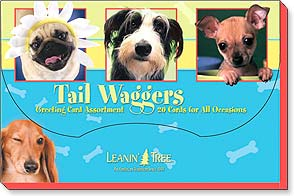Boxed Greeting Cards - Tail Waggers - 90738 | Leanin' Tree