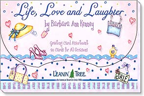 Boxed Greeting Cards - Life, Love and Laughter by B. A. Kenney  - 90739 | Leanin' Tree