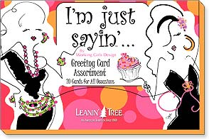 Boxed Greeting Cards - I'm Just Sayin' - 90746 | Leanin' Tree