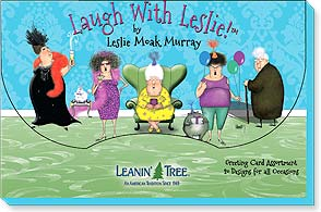 Boxed Greeting Cards - Laugh with Leslie - 90747 | Leanin' Tree