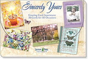 Boxed Greeting Cards - Sincerely Yours - 90750 | Leanin' Tree