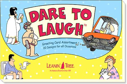Boxed Greeting Cards - Dare to Laugh - 90758 | Leanin' Tree