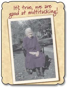 Birthday Card - Staff Pick - Funny | Good At Multi-tasking | Maggie Mae Sharp | 91365 | Leanin' Tree