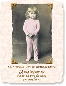 Birthday Card - Staff Pick - Funny | Special Bedtime Birthday Story | Maggie Mae Sharp | 91516 | Leanin' Tree