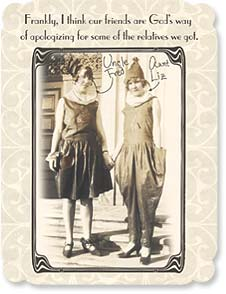 Friendship Card - That makes you a blessing! | Maggie Mae Sharp | 91904 | Leanin' Tree