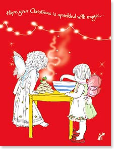 Christmas Note Card Sets - Hope your Christmas is sprinkled with magic | Jayne Oliver | 92092 | Leanin' Tree