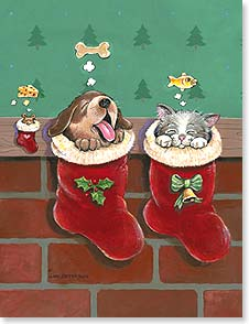 Christmas Note Card Sets - No one's been naughty... (not even a mouse!) | Gary Patterson | 92100 | Leanin' Tree