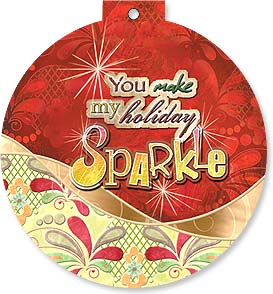 Holiday Card - Sparkling Holidays | Connie Haley | 92117 | Leanin' Tree