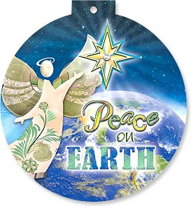 Christmas Card - Peace On Earth | Connie Haley | 92121 | Leanin' Tree