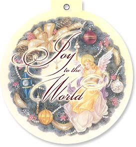 Christmas Card - Joy to the World | Lena Liu | 92123 | Leanin' Tree