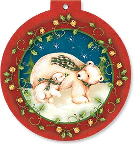 Holiday Card - Polar Bear Holiday | Elizabeth Brownd | 92133 | Leanin' Tree