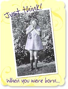 Birthday Card - ...everybody else wasn't! | Maggie Mae Sharp | 92135 | Leanin' Tree