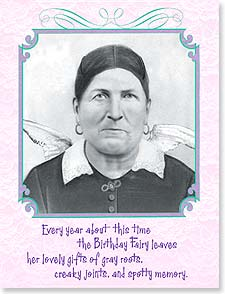 Birthday Card - Vindictive Old Bat | Maggie Mae Sharp | 92170 | Leanin' Tree