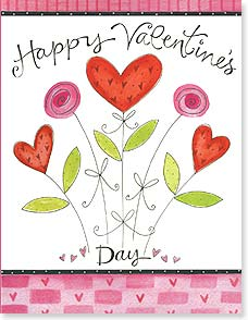 Valentine's Day Note Card Set - Happy Valentine's Day | Pat Yuille | 92246 | Leanin' Tree
